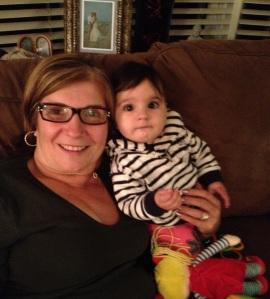 mom and lu