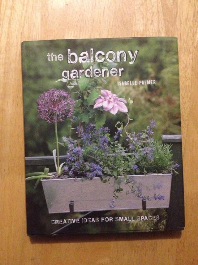 Balcony gardener book